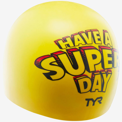 Шапочка для плавания TYR Super Day Swim Cap