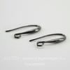 Швензы - крючки, 23х9 мм (цвет - черный никель), пара