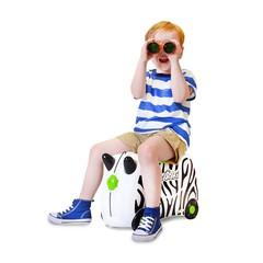 Детский чемодан Trunki Zebra Зебра