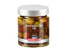 Смесь итальянских оливок Madama Oliva, 190г