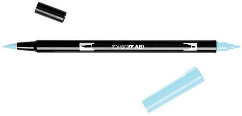 Маркер с двумя наконечниками Tombow Dual Brush Marker- Цвет 451 Sky Blue
