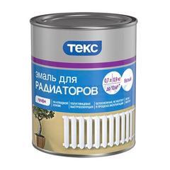 Эмаль алкидная Текс для радиаторов, 0,55кг