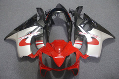 Комплект пластика для мотоцикла Honda CBR 600 F4I 04-07 Красно-Черно-Серебристый