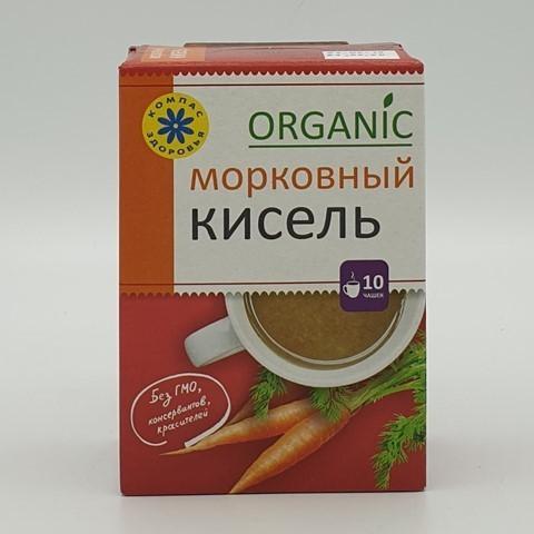 Кисель овсяно-льняной Морковный КОМПАС ЗДОРОВЬЯ, 150 гр