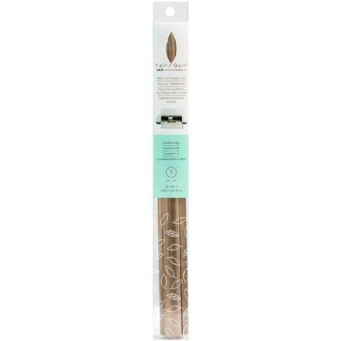 Фольга Foil Quill Foil Roll  от We R Memory Keepers . 30,5 х 243,8 см. Цвет - Champagne