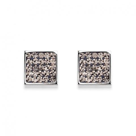 Серьги Coeur de Lion 0117/21-1200 цвет чёрный, серебряный