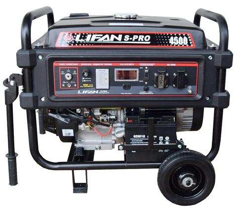 Бензогенератор Lifan S-PRO 4500