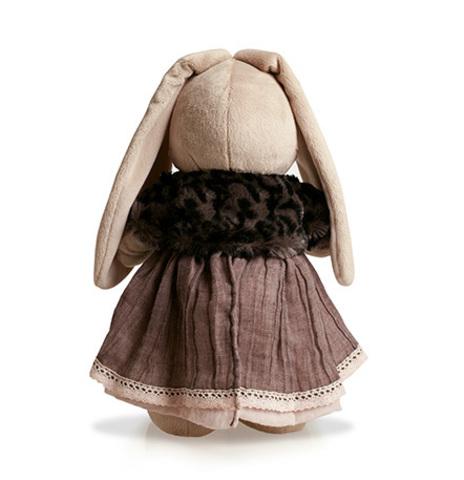 Зайка Ми в тигровой шубке и сером платье (малая)