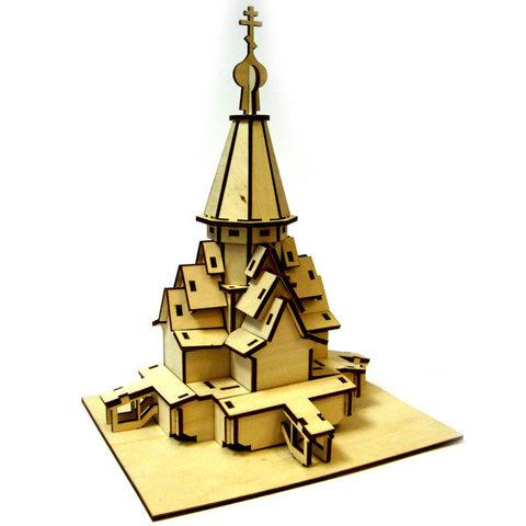 Сборная модель «Храм Успения прс. Богородицы в с. Варзуга»