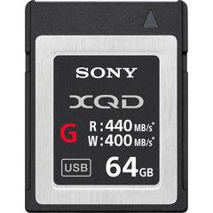 Карта памяти Sony QD-G64E XQD 64GB серия G 440/400MB/s