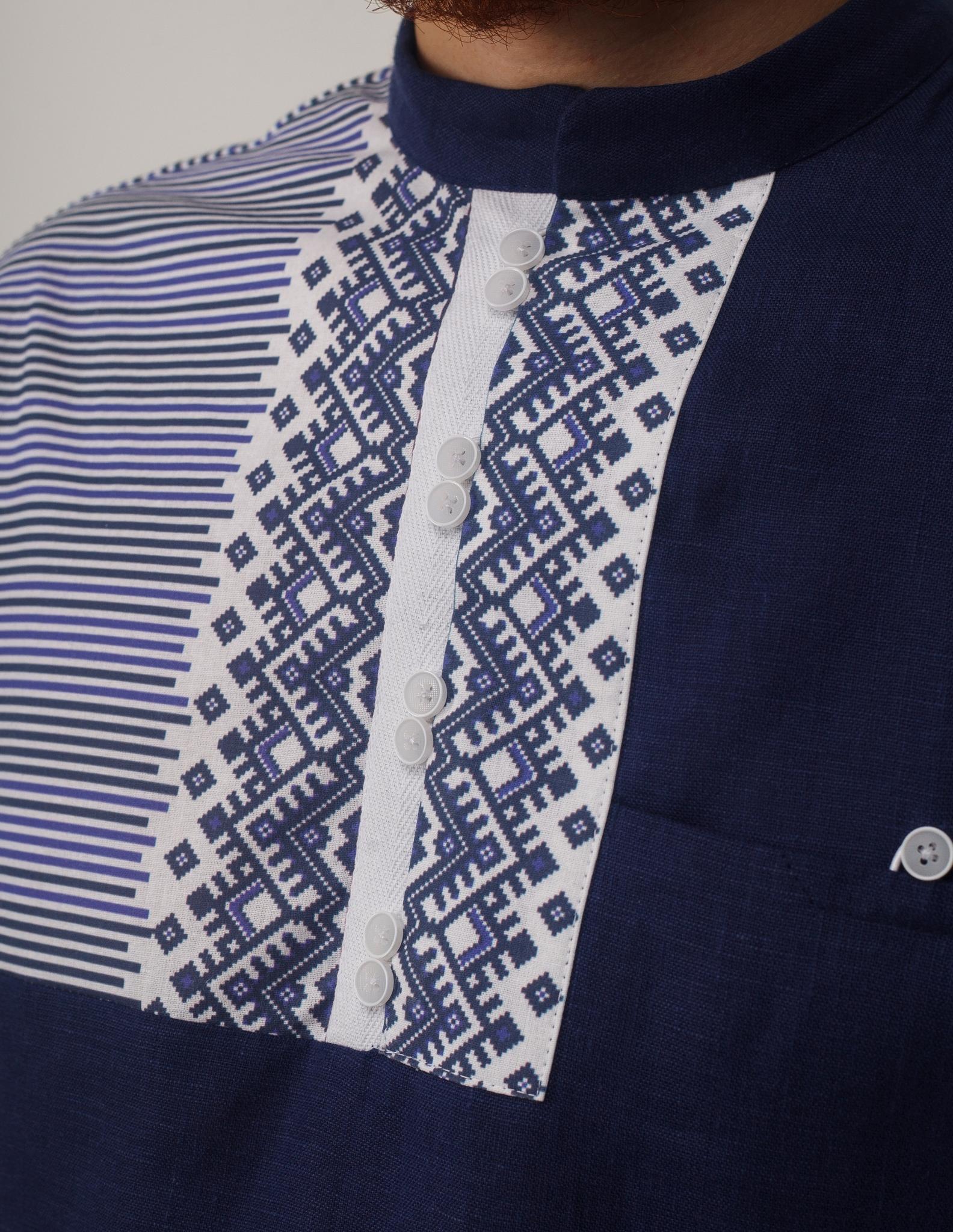 Рубашка мужская Сибирская застёжка