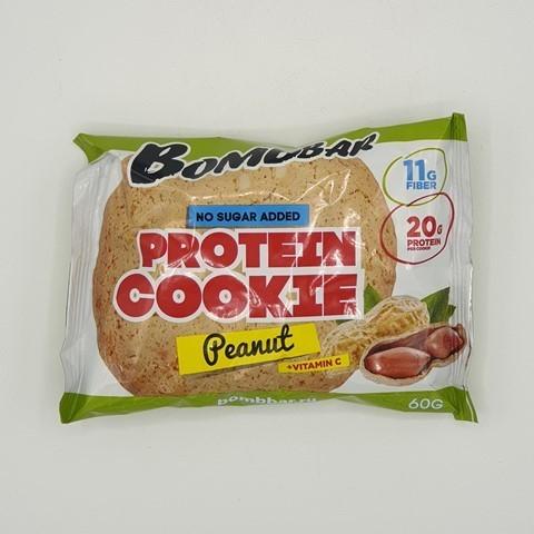 Печенье протеиновое вкус Арахис BOMBBAR, 60 гр