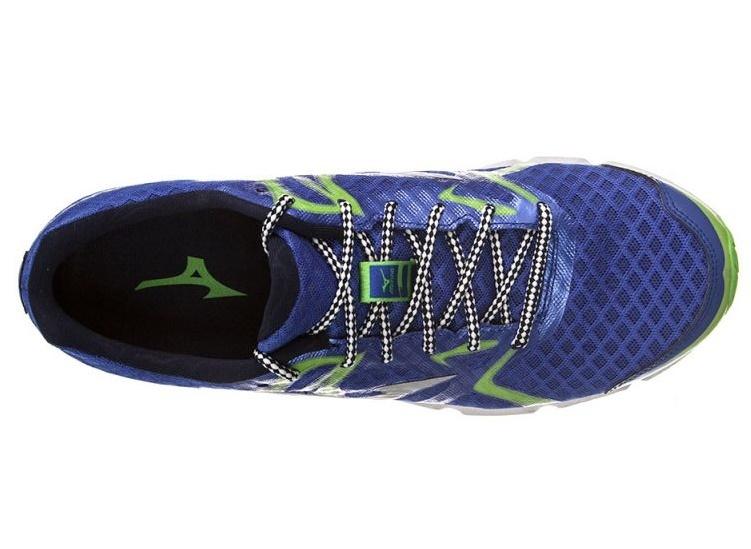Мужские кроссовки для бега Mizuno Wave Hitogami (J1GA1480 03) синие фото