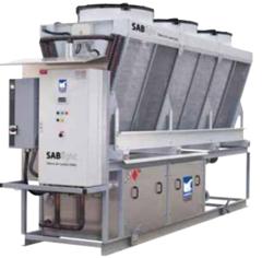 Чиллер Sabroe SABlight с воздушным охлаждением конденсатора