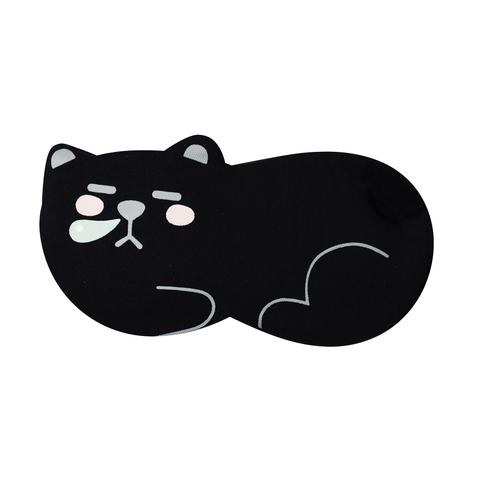 Маска для сна Lying Bear Black