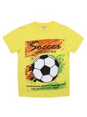 BK002F-62 футболка для мальчика, желтая