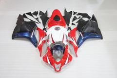 Комплект пластика для мотоцикла Honda CBR 600 RR 09-12 Бело-Красно-Сине-Черный