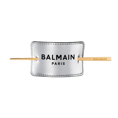 Balmain Hair Серебряная заколка для волос