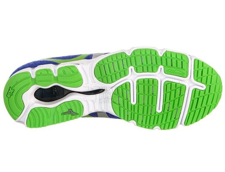 Мужские беговые кроссовки Mizuno Wave Hitogami (J1GA1480 03) синие