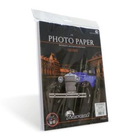 Фотобумага, глянцевая, A4, 120г/м2, 100 л.