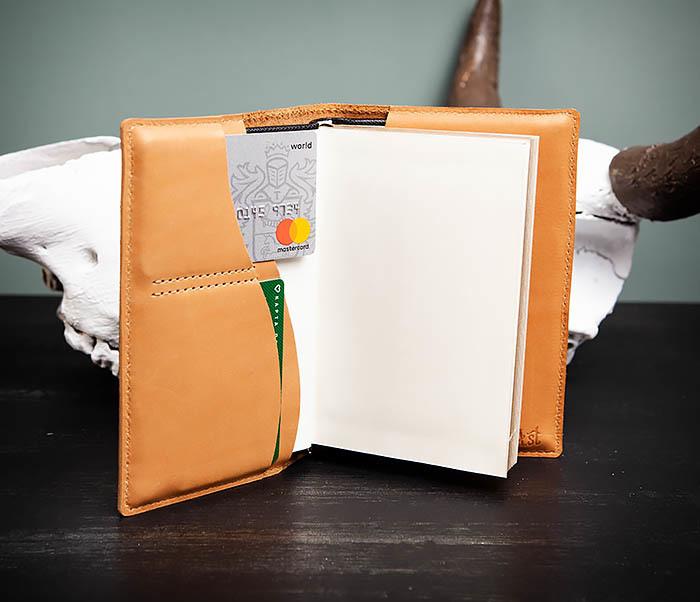 BY05-52-01 Красивый ежедневник «Мои заметки» в обложке из натуральной кожи (А6) фото 05