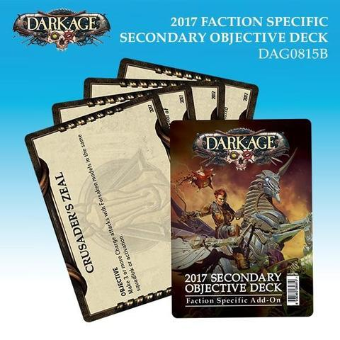 2017 Faction Specific Secondary Objective Deck