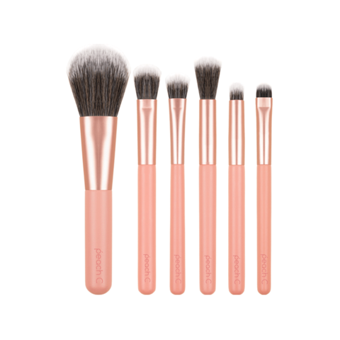 Набор кисточек Peach C Daily Mini Makeup Brush Set
