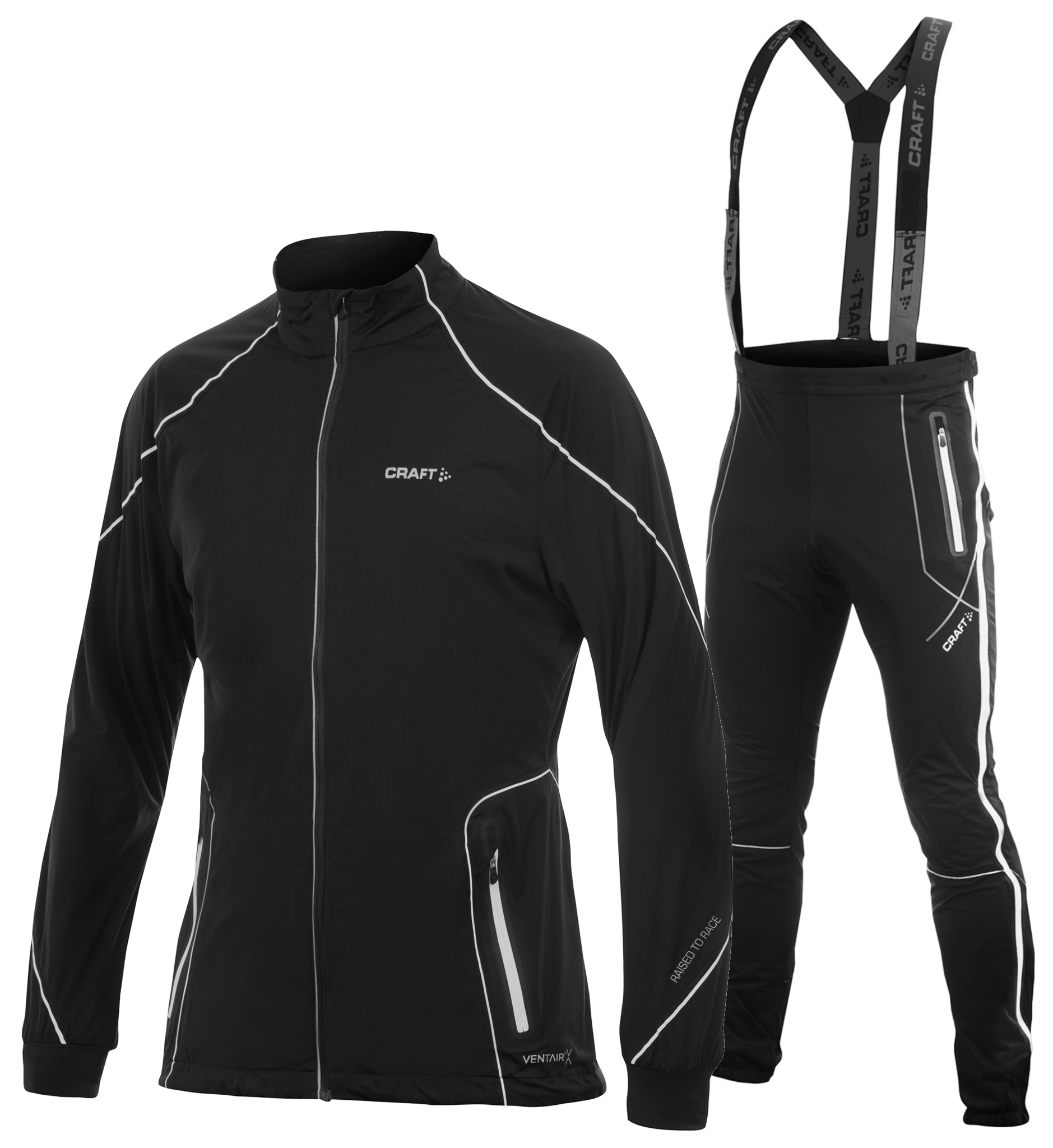 Лыжный костюм Craft High Function ZIP черный мужской фото