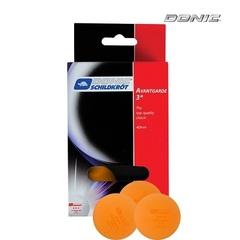 Мячики для настольного тенниса DONIC AVANTGARDE 3, 6 шт, оранжевый