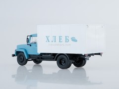 GAZ-3307 Van Bread blue-white 1:43 Our Trucks #4 (limited edition)