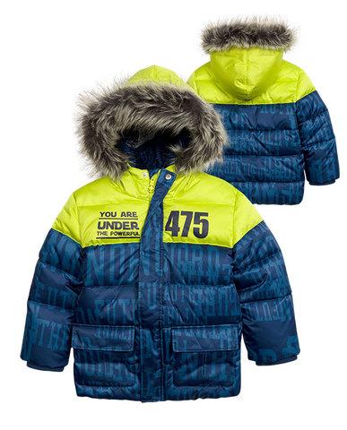 Pelican BZWW376 куртка для мальчиков синяя
