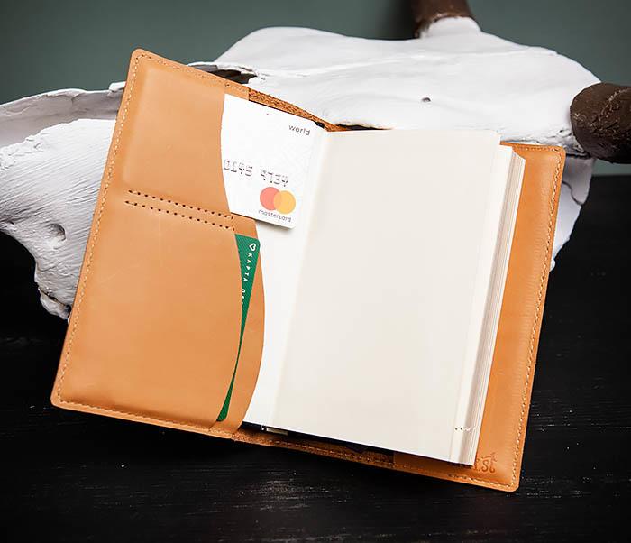BY05-52-01 Красивый ежедневник «Мои заметки» в обложке из натуральной кожи (А6) фото 07