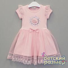 Платье (сетка, пайетки, кружево)