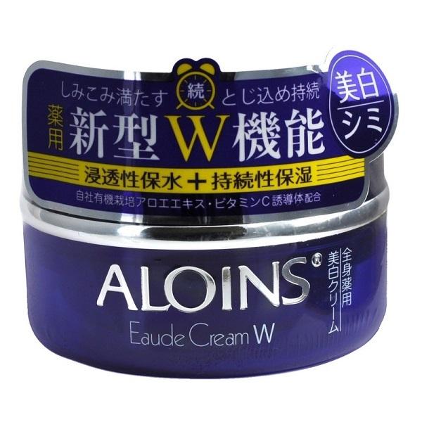 Крем для лица и тела увлажняющий с экстрактом алоэ и плацентой Aloins Eaude Cream W 120г