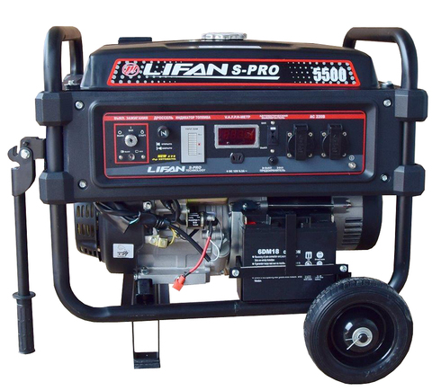 Бензогенератор Lifan S-PRO 5500