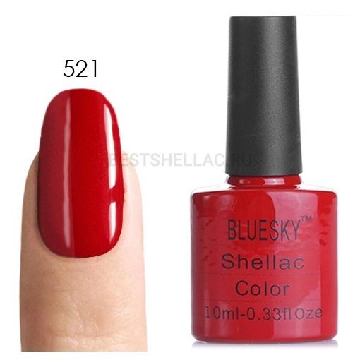 Bluesky shellac Гель-лак Bluesky № 40521/80521 Hollywood, 10 мл 521.jpg