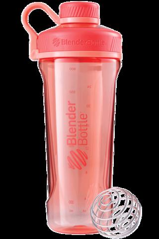 BlenderBottle Radian Tritan, 946мл 2в1 Шейкер и Бутылка с венчиком для спорта_Coral-коралловый 946 мл cat