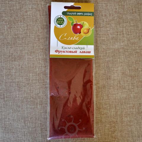 Лаваш фруктовый из сливы, 100г