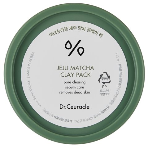 Очищающая Маска с Матча DR. CEURACLE Matcha Clay Pack