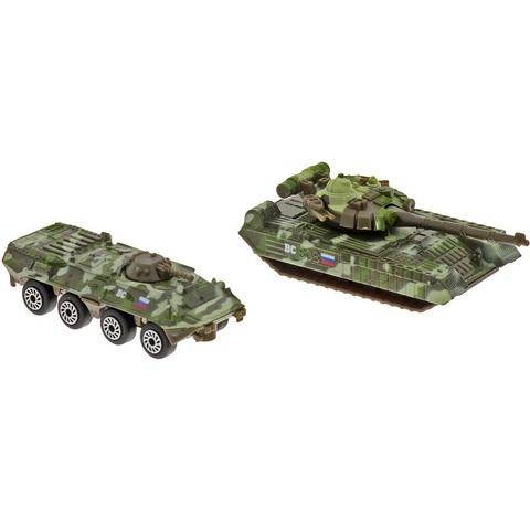 Технопарк Военная техника Набор БТР и Танк