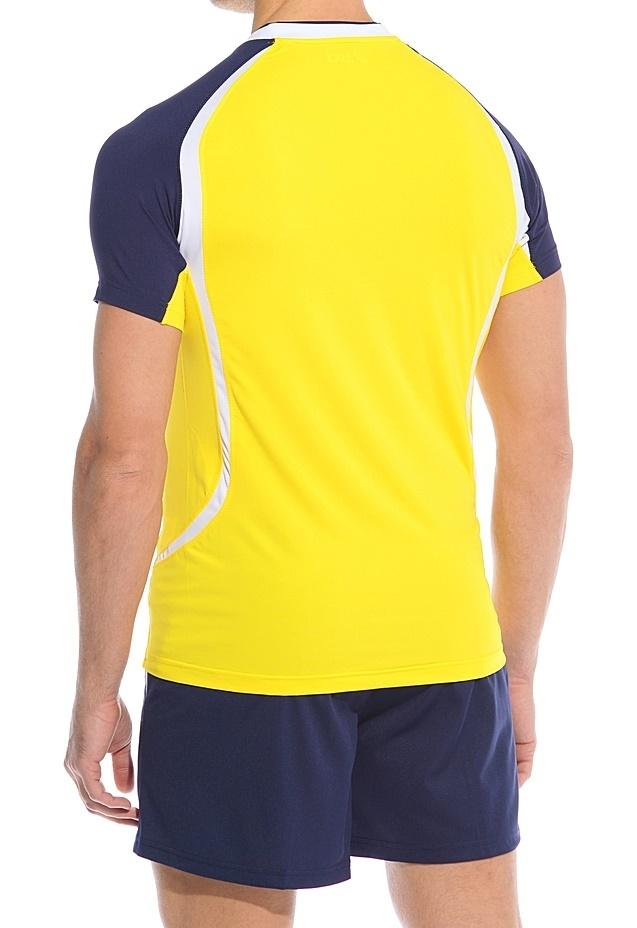 Волейбольная форма асикс Set Tiger Man (T228Z1 QV50) желтый фото