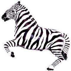 F Мини фигура Зебра (чёрная) / Zebra (14