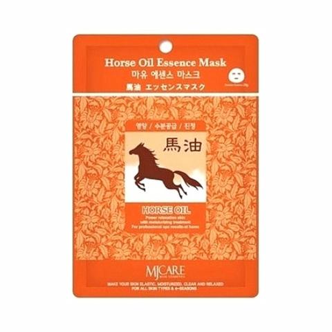 Маска для лица с лошадиным жиром MIJIN COSMETICS Horse Oil Essence Mask 30гр