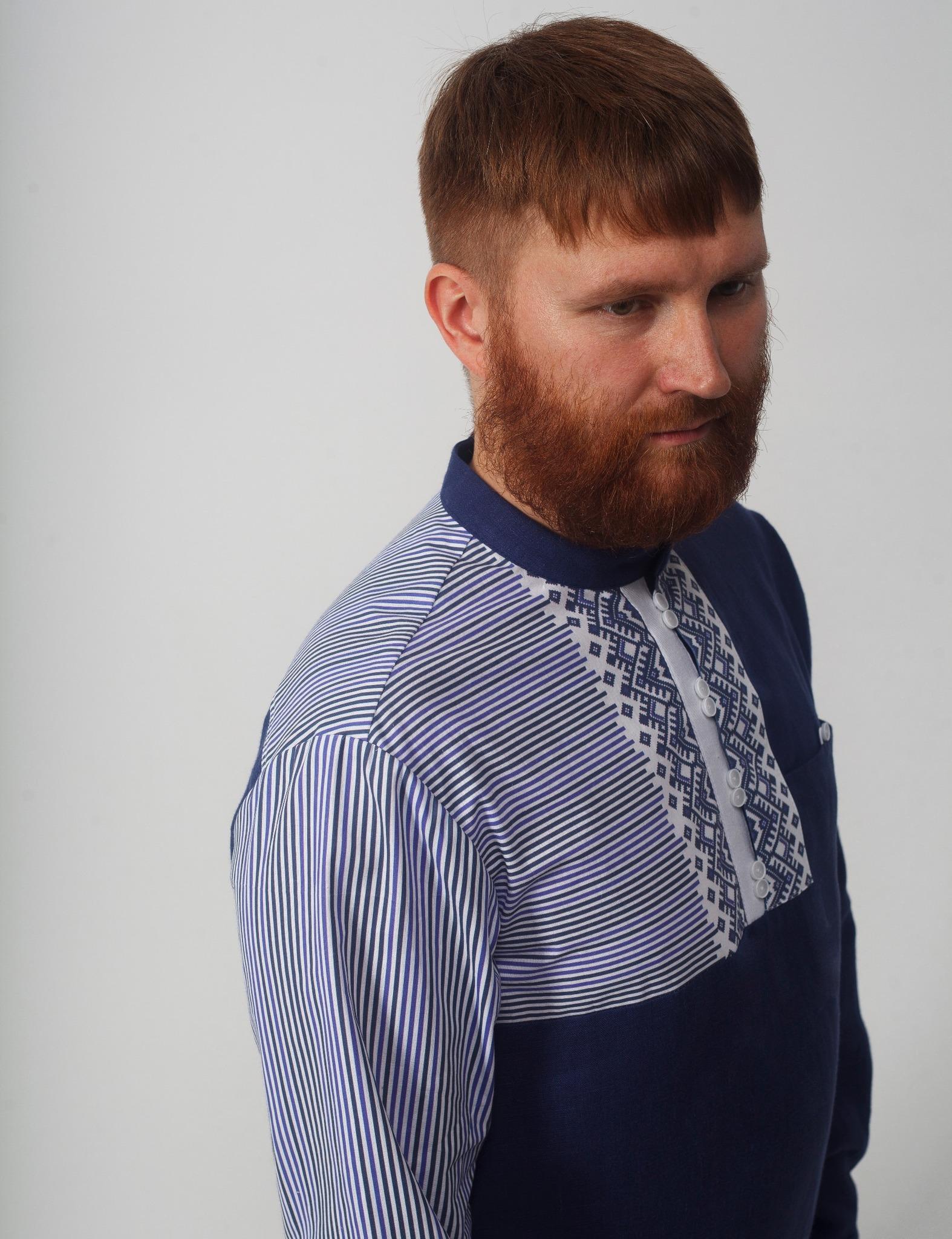 Рубашка мужская Сибирская плечо