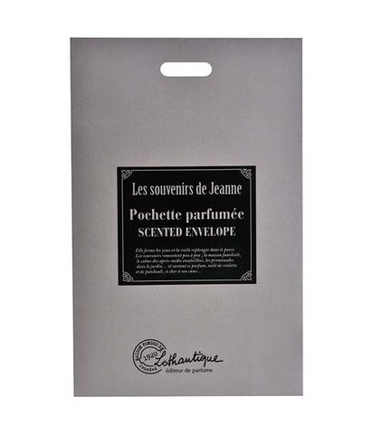 Саше в конвертике ароматизированное Воспоминания Жанны, Lothantique