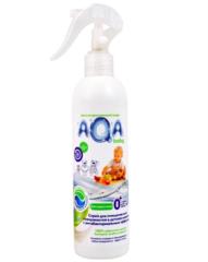 AQA baby. Спрей  антибактериальный для очищения поверхностей в детской комнате, 300 мл