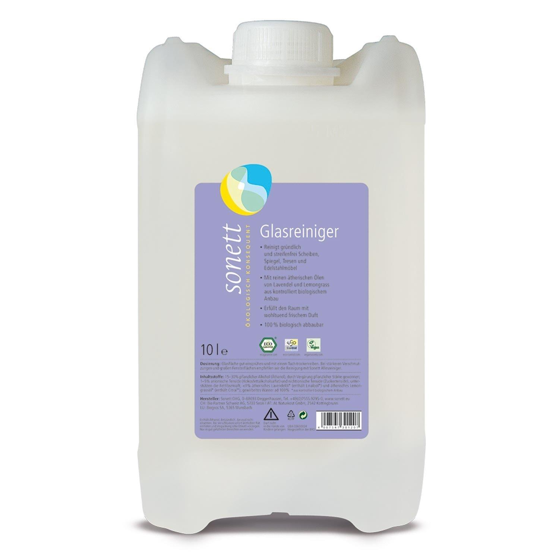 Чистящее средство для стекла Лаванда и Лемонграсс Sonett, 10л