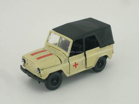 UAZ-469 Ambulance Agat Mossar Tantal 1:43