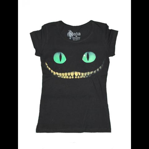 Футболка женская чеширский кот
