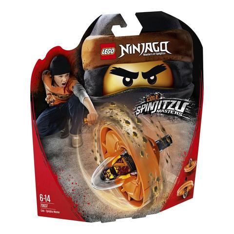 LEGO Ninjago: Коул — мастер Кружитцу 70637 — Cole — Spinjitzu Master — Лего Ниндзяго